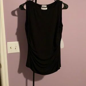 Calvin Klein black invisible fit solutions top S